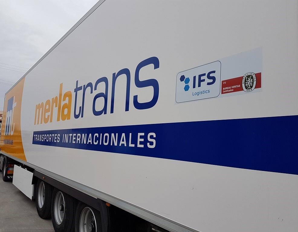 Transportes Murcia, Camiones frigoríficos, transporte internacional Mercancías